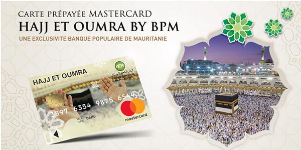 Carte prépayée Mastercard HAJJ Et OMRA